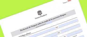 Declaración IRPF Andorra 2018