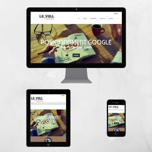 Web adaptada per a dispositius mòbils